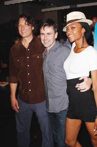 David Munro, Matt McGrath, and Yaya DaCosta   Photo