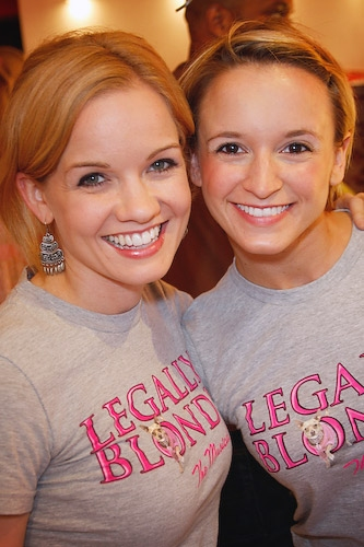 Becky Gulsvig and Emily Padgett