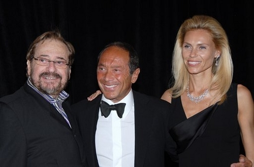 Phil Ramone,Paul Anka and Anna Yeager