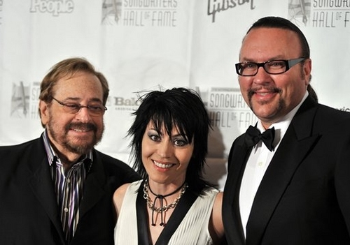 Phil Ramone,Joan Jett and Desmond Child
