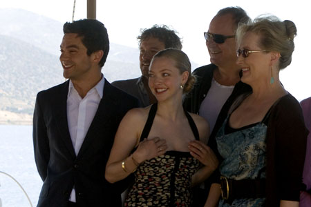 Photo Coverage:  'Mamma Mia!' Film Stars Visit Greece