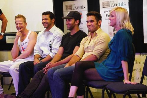 Michael Curry, Julio Agustin, Sebastian La Cause, Matthew Risch and Angie Schorer