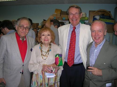 Elliot Ames, Ruth Zimmerman Klatzko, Chairman of the Board David McCoy, and York Board Member Bernie Carragher