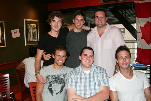 Top Row: Benton Whitley, Frank DiLella and Jimmy Smagula, Bottom Row: Nicholas Galbraith, Steve Lyon and Brian Gillespie