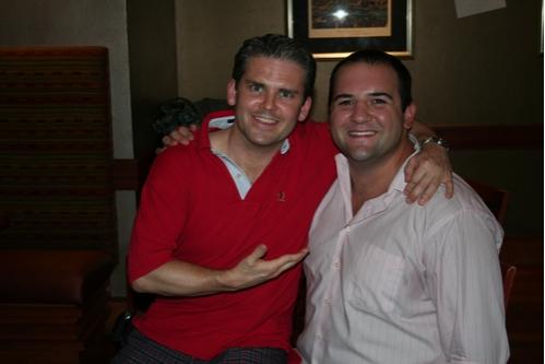 Robert Creighton and Jimmy Smagula  Photo