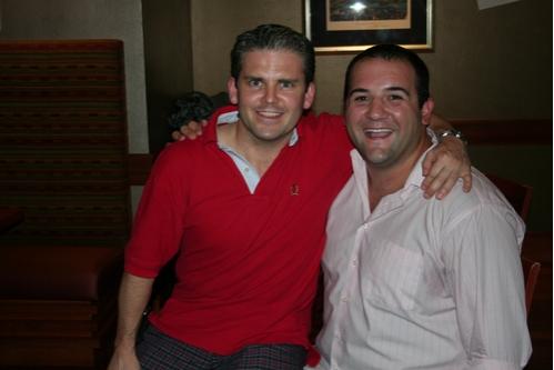 Robert Creighton (upcoming Damn Yankees) and Jimmy Smagula (upcoming Damn Yankees)  Photo