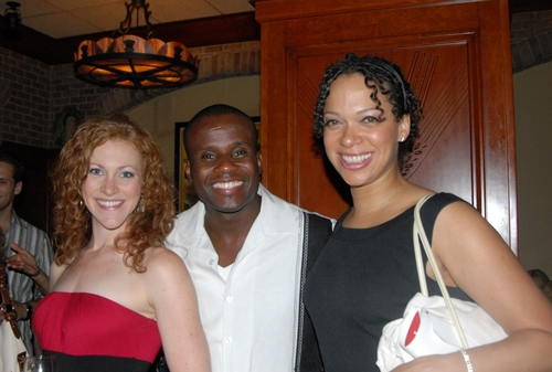 Melanie Waldron, Dwayne Clark and Jean Michelle Grier