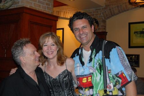Charles Amann, Deborah Kym and Raymond Jaramillo McLeod