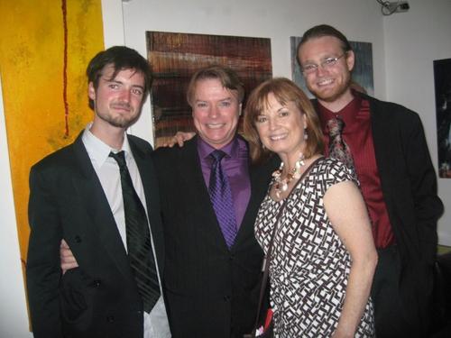 BranDon Johnson,Jay Johnson, Sandi Johnson and Taylor Johnson Photo