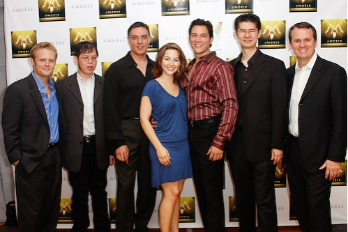 Frank Monteleone, Ken Lai, Robert Cuccioli,Jessica Grové, Nicholas Rodriguez,