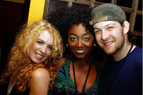 Kacie Sheik, Patina Renea Miller and Andrew Kober