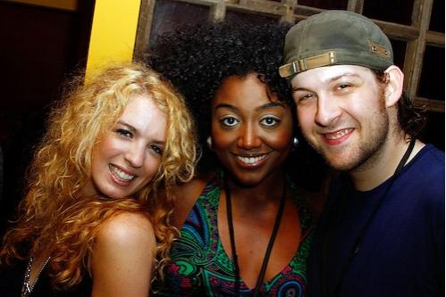 Kacie Sheik, Patina Renea Miller and Andrew Kober