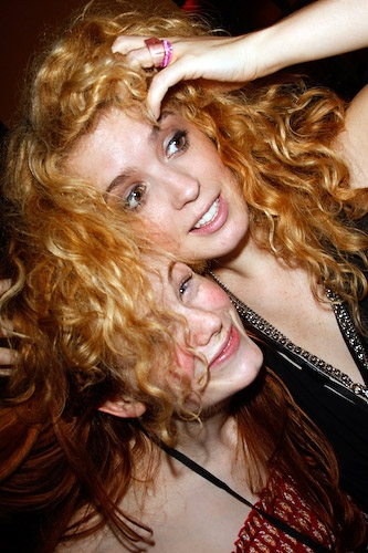 Allison Case and Kacie Sheik  Photo