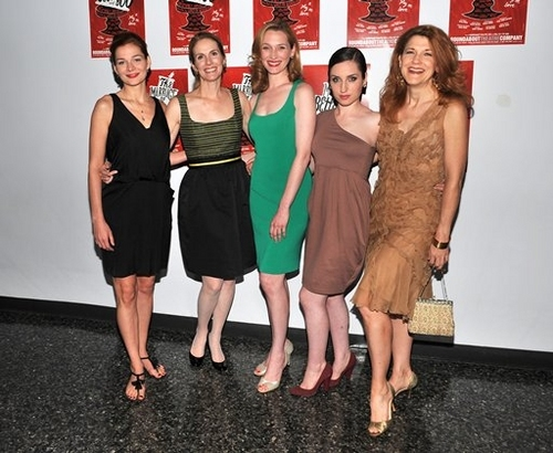 Heather Burns,Julie Hagerty,Kate Jennings Grant, Zoe Lister, and Victoria Clark