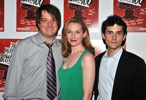 Christopher Evan Welch,Kate Jennings Grant and Charles Socarides Photo
