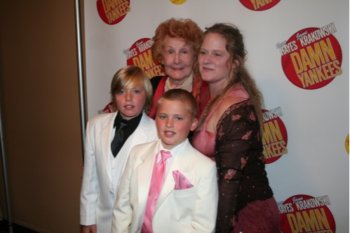 Shannon Bolin, Bob Fosse's daughter Nicole Fosse and her children