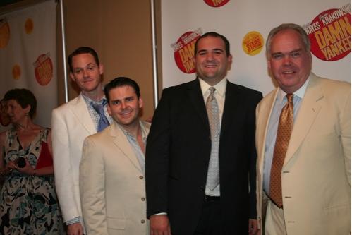 Jimmy Ray Bennett (Sohovik), Robert Creighton (Smoky), Jimmy Smagula (Rocky) and Mich Photo