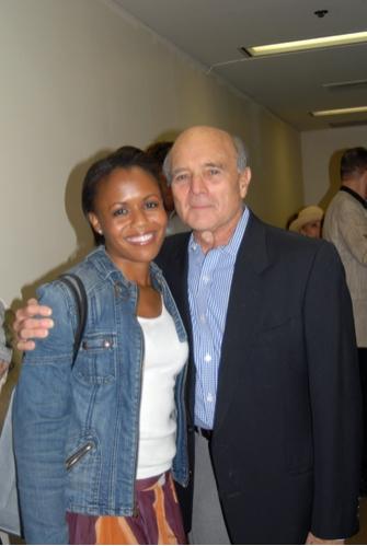 Nikki Renee Daniels and Larry Grossman