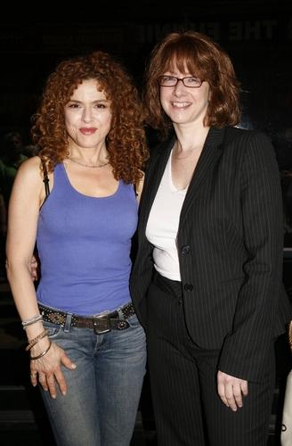 Bernadette Peters with Linda B. Rosenthal