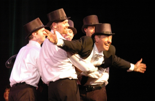 Jason Graae and the Night At The Operetta Dancers-Eric Sean Fogel, J. Austin Eyer, Billy Harrigan Tighe and Ben Franklin
