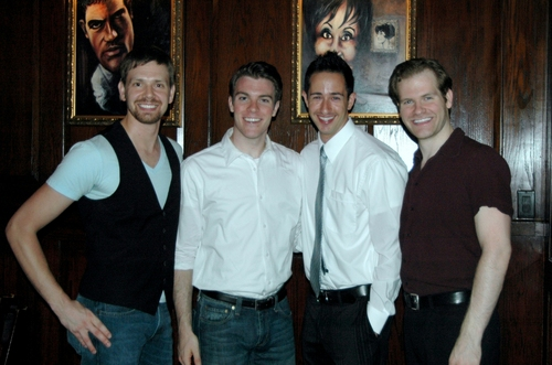 Billy Harrington Tighe, Eric Sean Fogel, Ben Franklin, J. Austin Eyer Photo