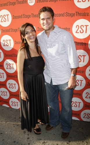 Steven Pasquale and Callie Thorne