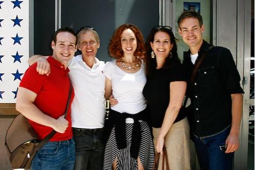 Dan Petrotta, Randy Glass, Alison Cimmet, Anne Tolpegin, and Eric Van Tielen