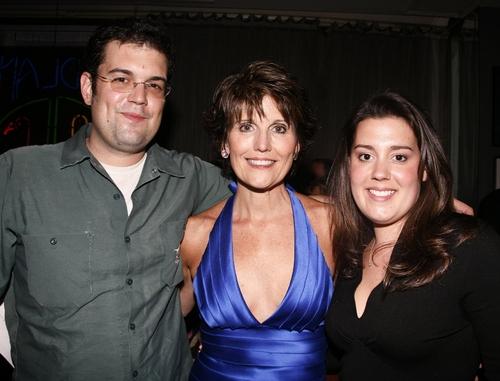 Joe Luckinbill, Lucie Arnaz, and Katie Luckinbill