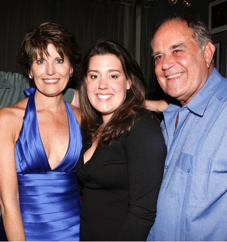 Lucie Arnaz, Katie Luckinbill, and Laurence Luckinbill