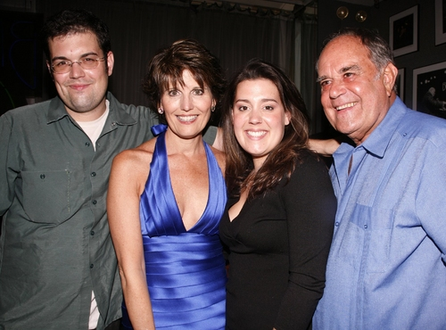 Joe Luckinbill, Lucie Arnaz, Katie Luckinbill, and Lawrence Luckinbill