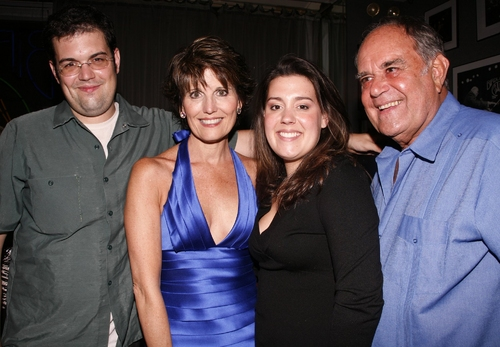 Joe Luckinbill, Lucie Arnaz, Katie Luckinbill, and