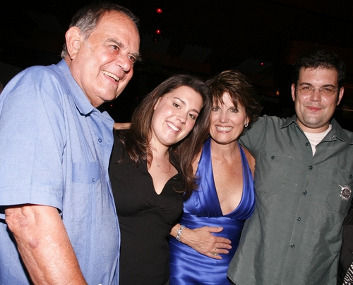 Laurence Luckinbill, Lucie Arnaz, Katie Luckinbill, and Joe Luckinbill