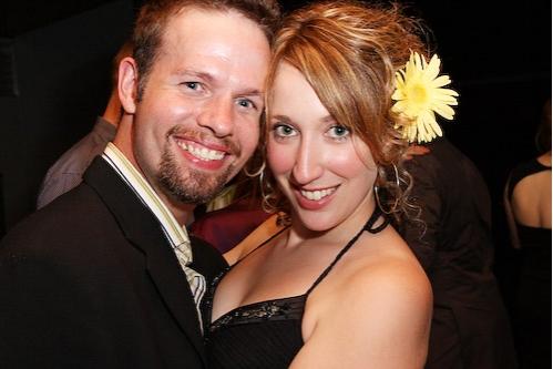 Jason Dula and Courtney Balan