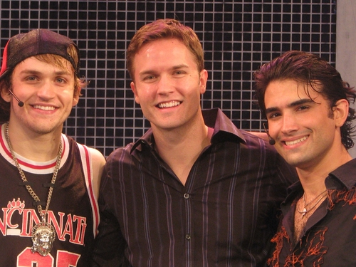 Neil Haskell,Scott Porter and Mauricio Perez