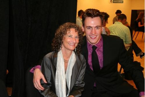Donna Lieberman and Erich Bergen