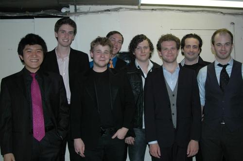 Kyu-Jeong Han, Greg Kenna, F. Michael Haynie, Ryan Scoble, John Fletcher, Joshua Isaa Photo