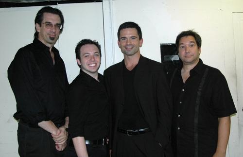 Musicians for the concert, Ritt Hen, Jeremy Clayton, John Fischer, Walter Usiatynski