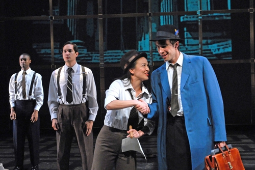 Jude Sandy, Richard Nguyen Sloniker, Rebecca Hirota, and Alex Teicheira Photo