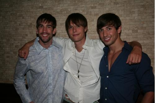 Tommy Berklund,Will Taylor and Nick Adams Photo