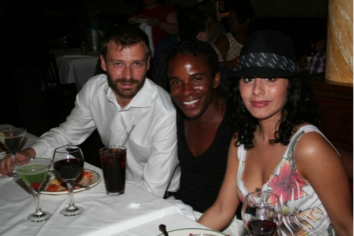 Jako Borren, Eric DySant and Michelle Araverna