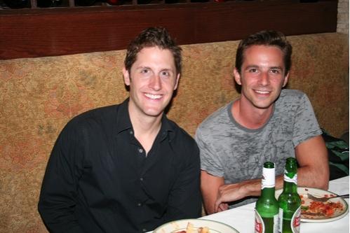 Kurt Domoney and Todd Anderson