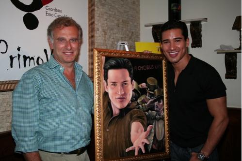 John Breglio and Mario Lopez