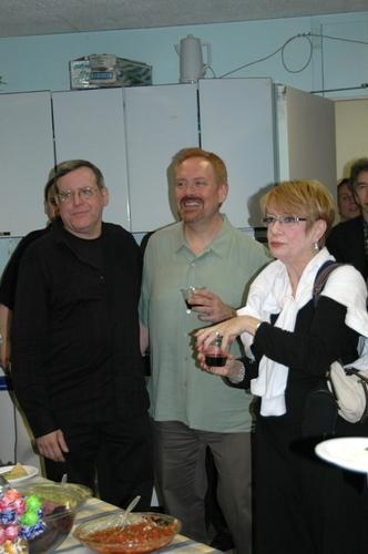 Peter Napolitano, Matthew Ward and Nancy Dussault