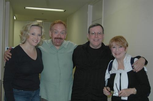 Sally Wilfert, Matthew Ward (Composer), Peter Napolitano and Nancy Dussault