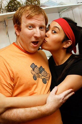 Hunter Bell and Brooke Ishibashi