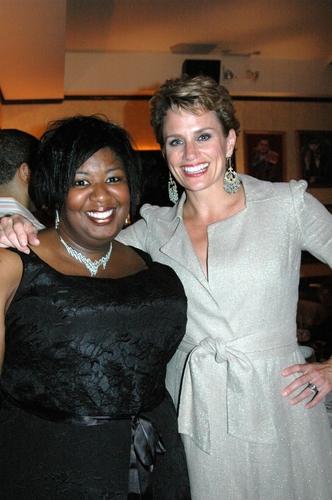 Natasha Williams and Cady Huffman
