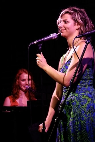 Alicia Witt and Amelia Zirin-Brown (Lady Rizo and her Assettes)
