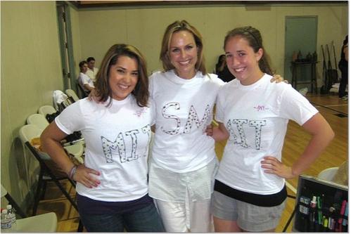 Samantha Rey, Melora Hardin and Amy Shaughnessy Photo