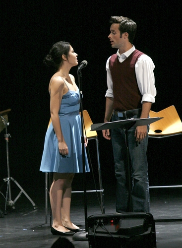 Erik Keiser and Sara Michelle Valencia at Variations on  Shakespeare Performance