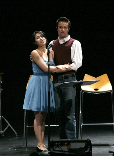 Erik Keiser and Sara Michelle Valencia